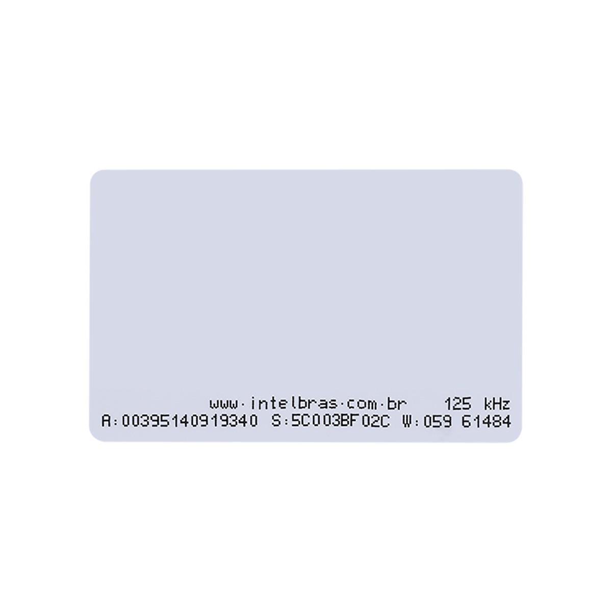Cartão de Proximidade RFID 125 kHz Intelbras TH 2000