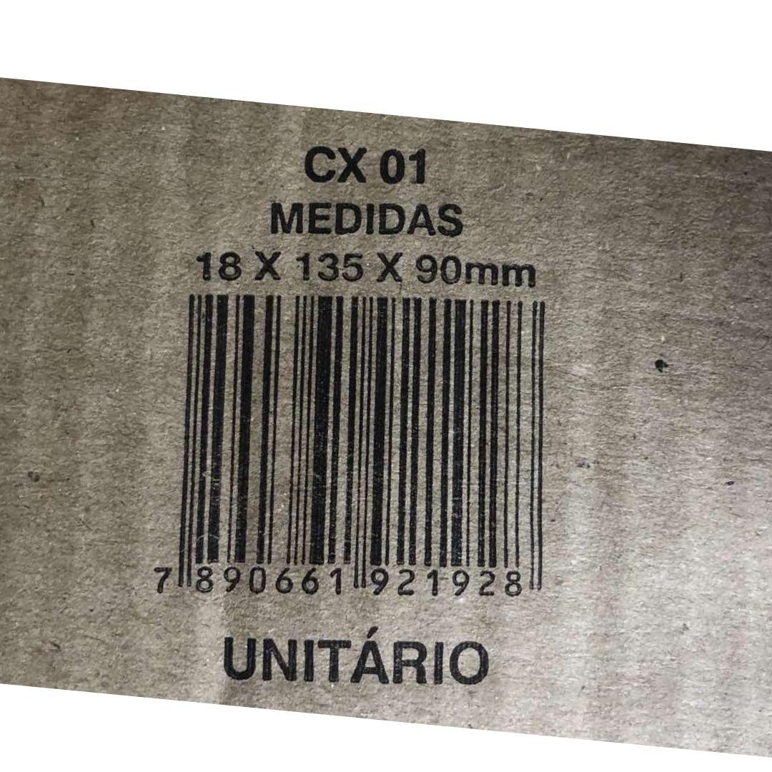 Embalagem Caixa 18x13,5x9cm Correios 01 Sedex Kraft FNA 12un