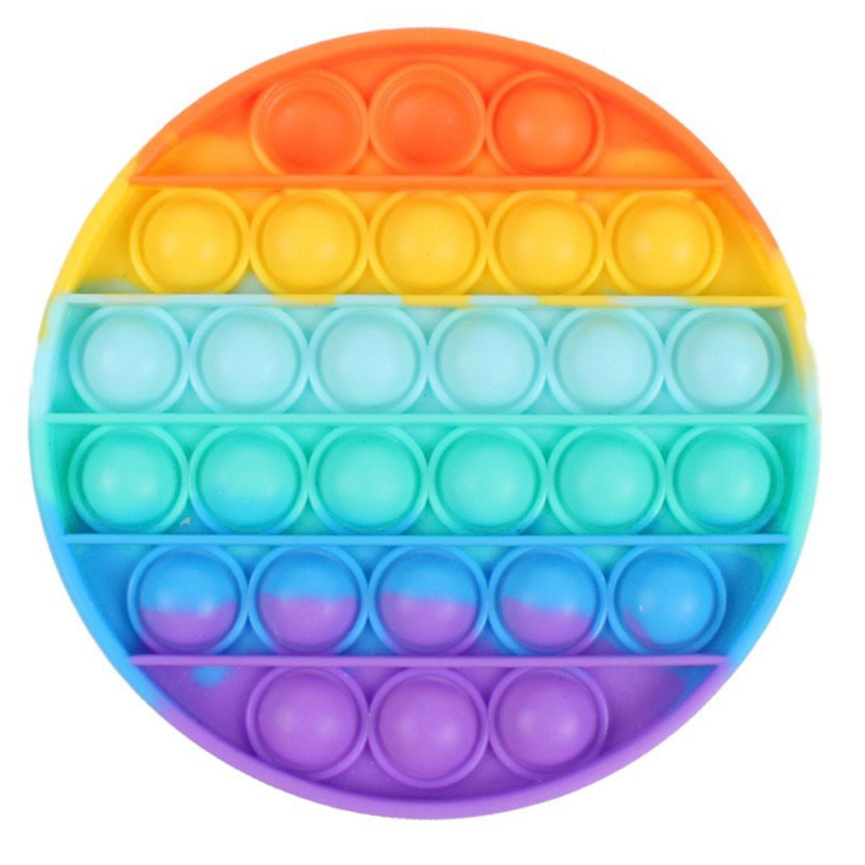 Fidget Toy Pop It Brinquedo Sensorial Circulo Silicone