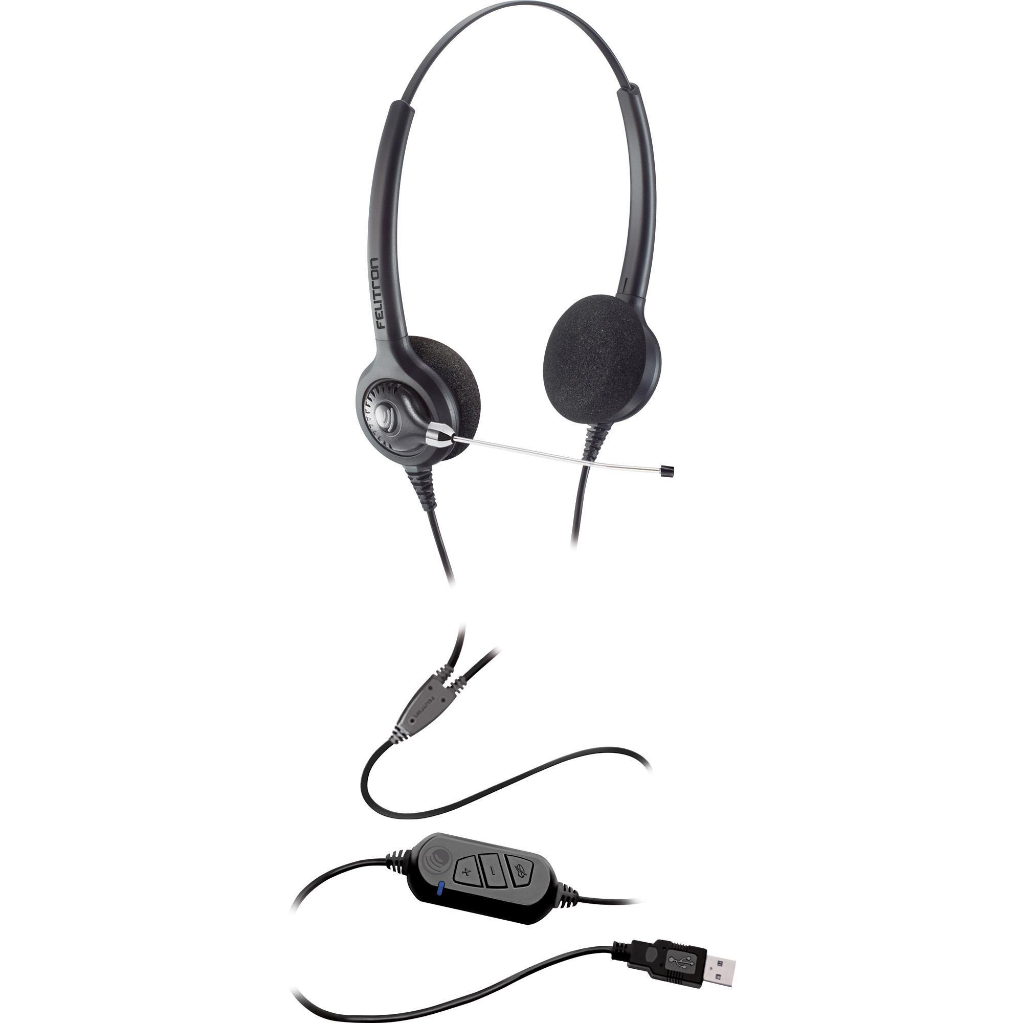 Headset Biauricular Epko Compact FELITRON