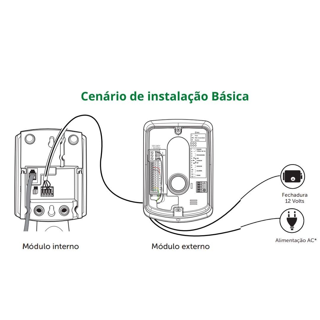 Interfone Intelbras Porteiro Residencial IPR 8010