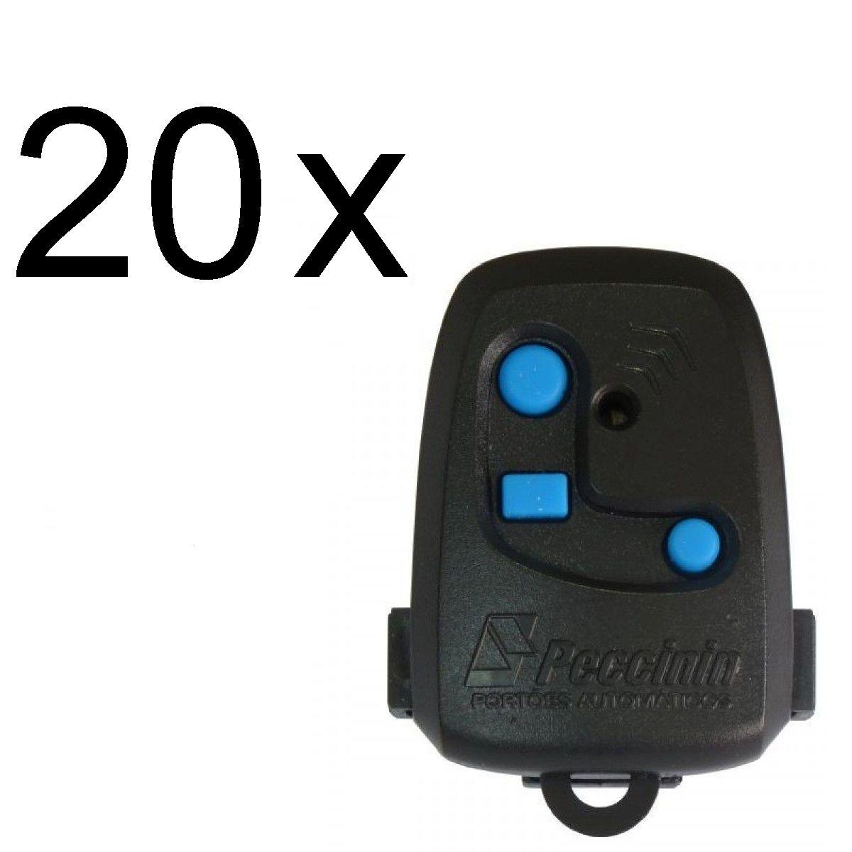 Kit 20 Controles de Portão 3C Peccinin