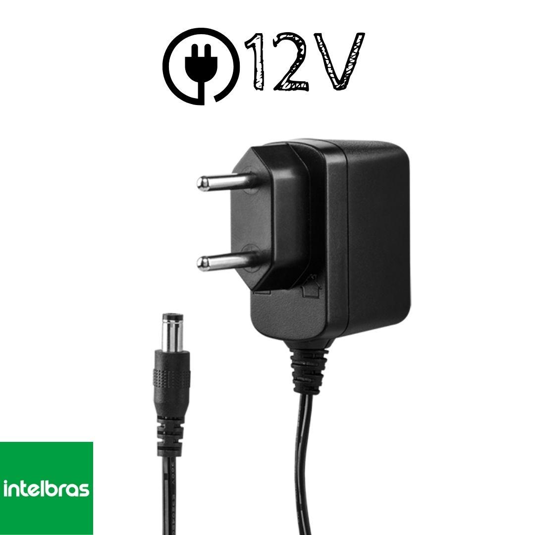 Kit 2 Câmeras Intelbras VHL 1120 B + 2 Fontes 12V Intelbras