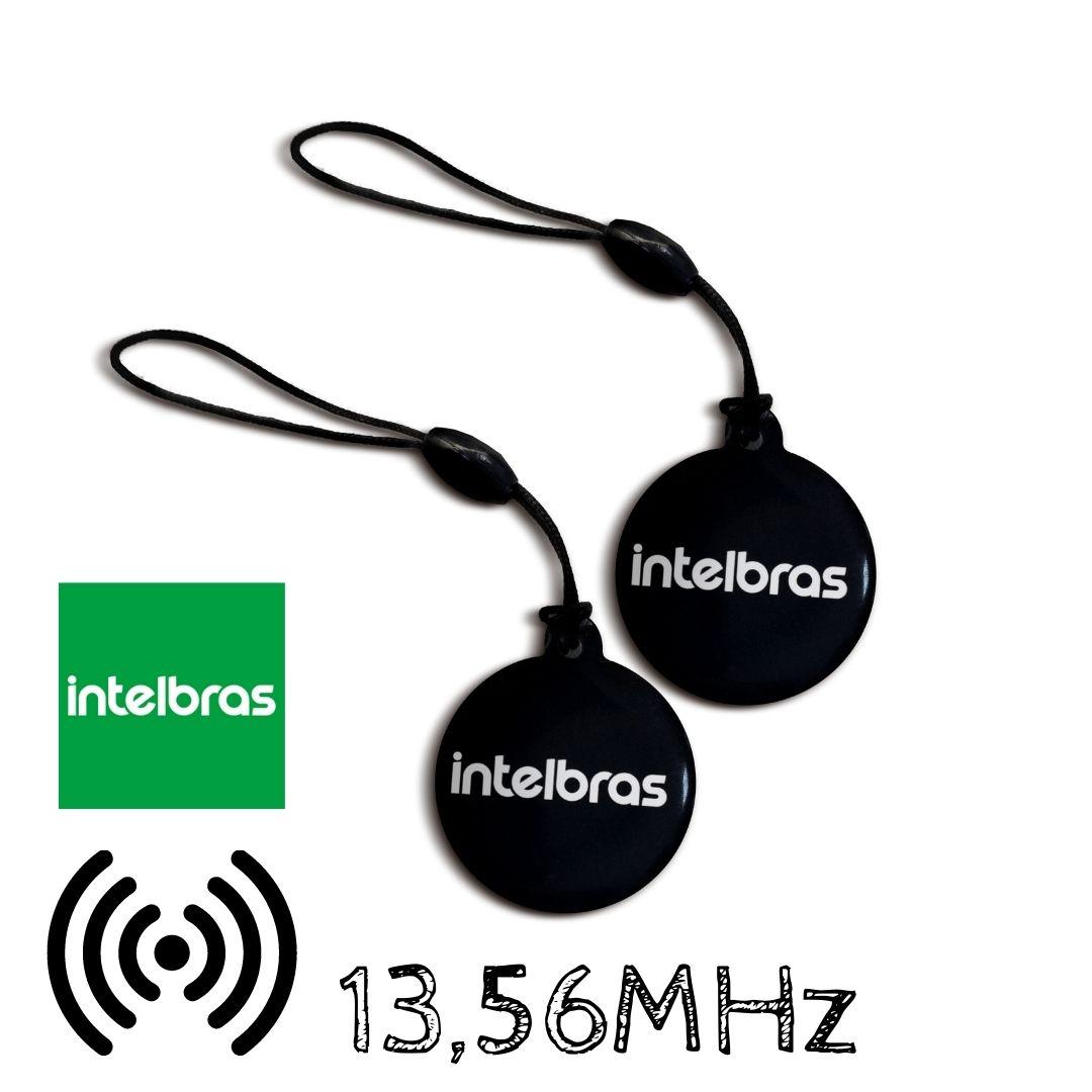 Kit 2 Chaveiros Aproximação RFID Intelbras Mifare XID1000