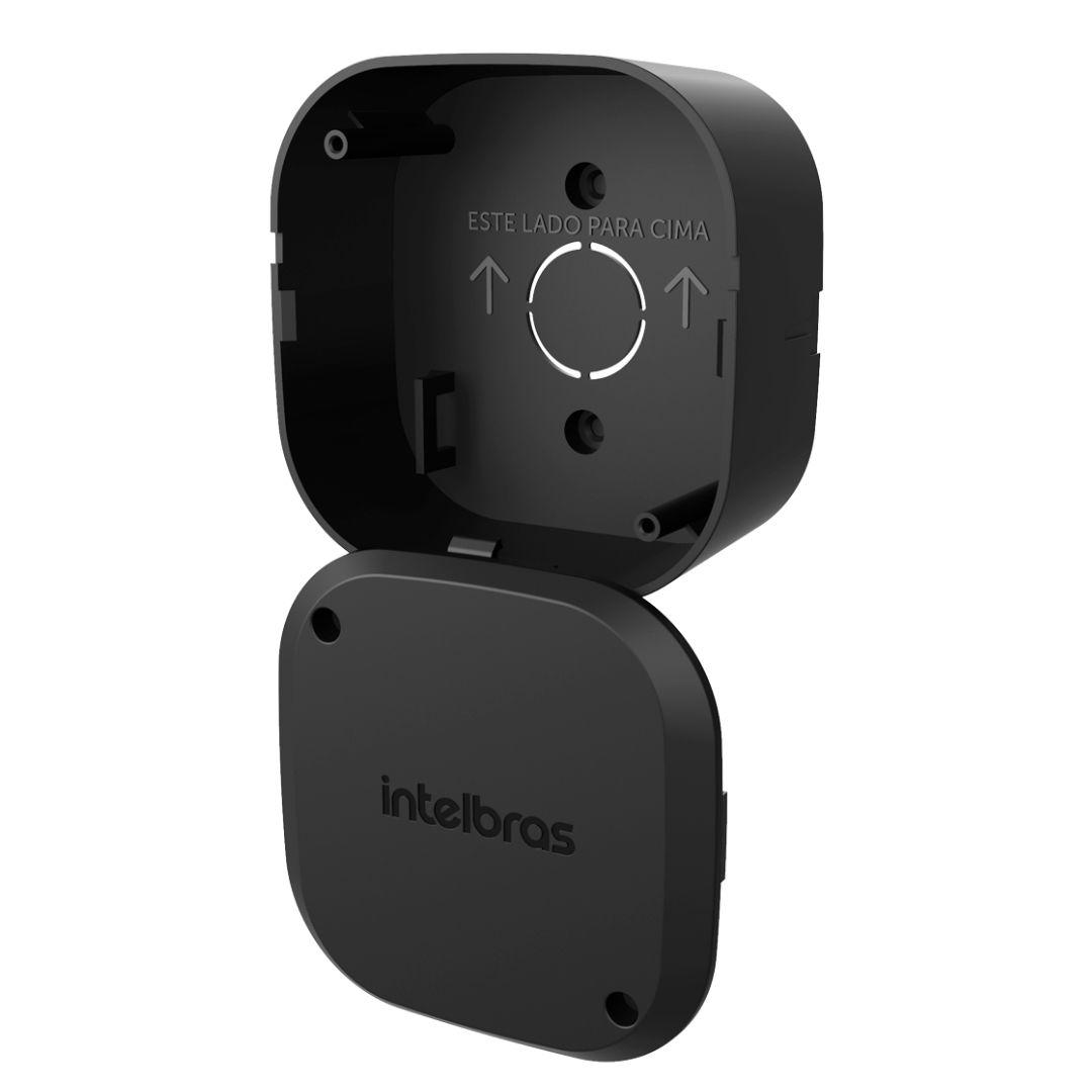 Kit 3 Caixas Passagem Câmera CFTV VBOX 1100 Black Intelbras