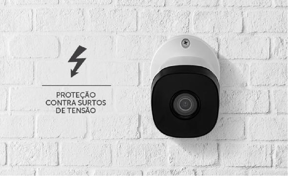 Kit 3 Câmeras Intelbras HD Bullet VHL 1120 B