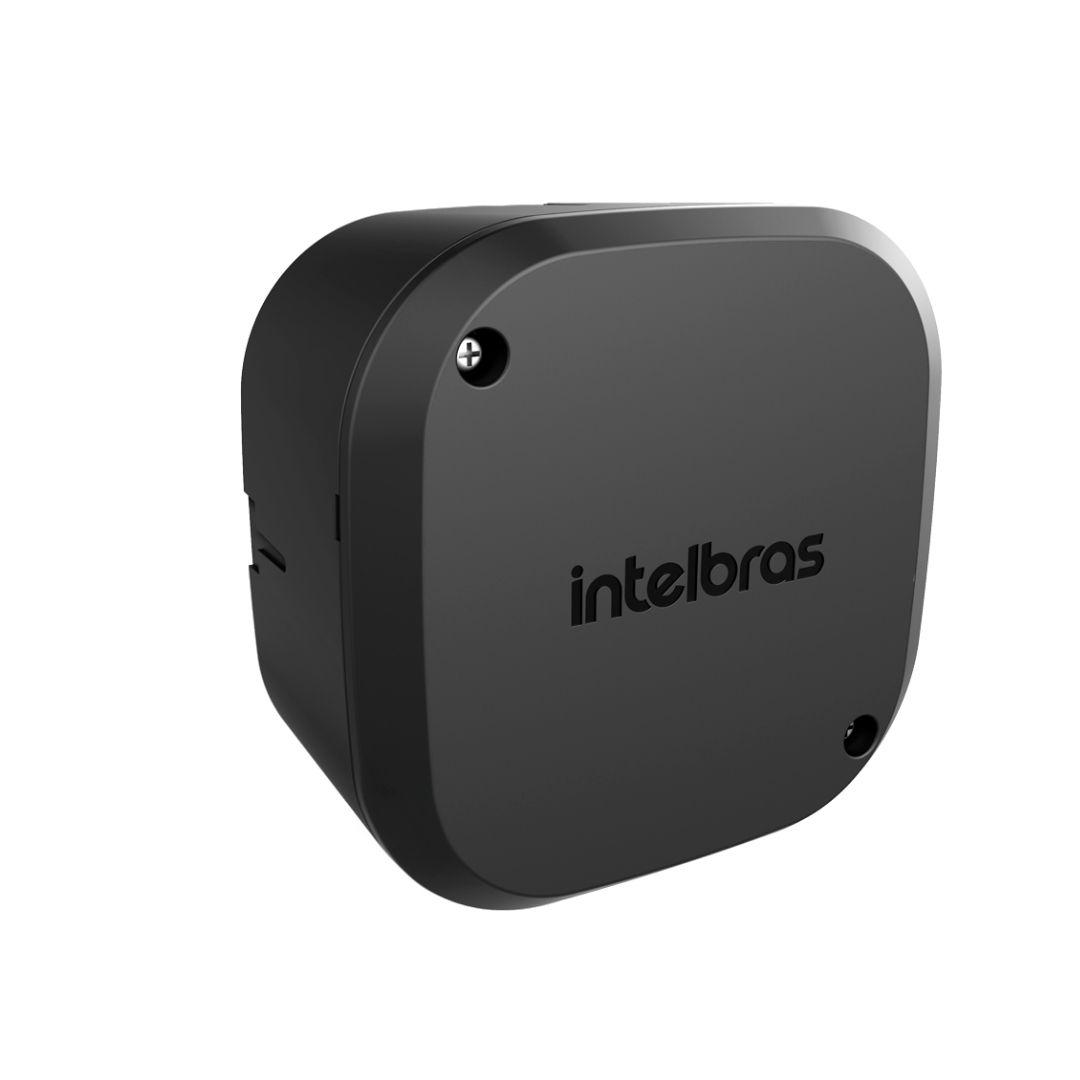 Kit 4 Caixas Passagem Câmera CFTV VBOX 1100 Black Intelbras