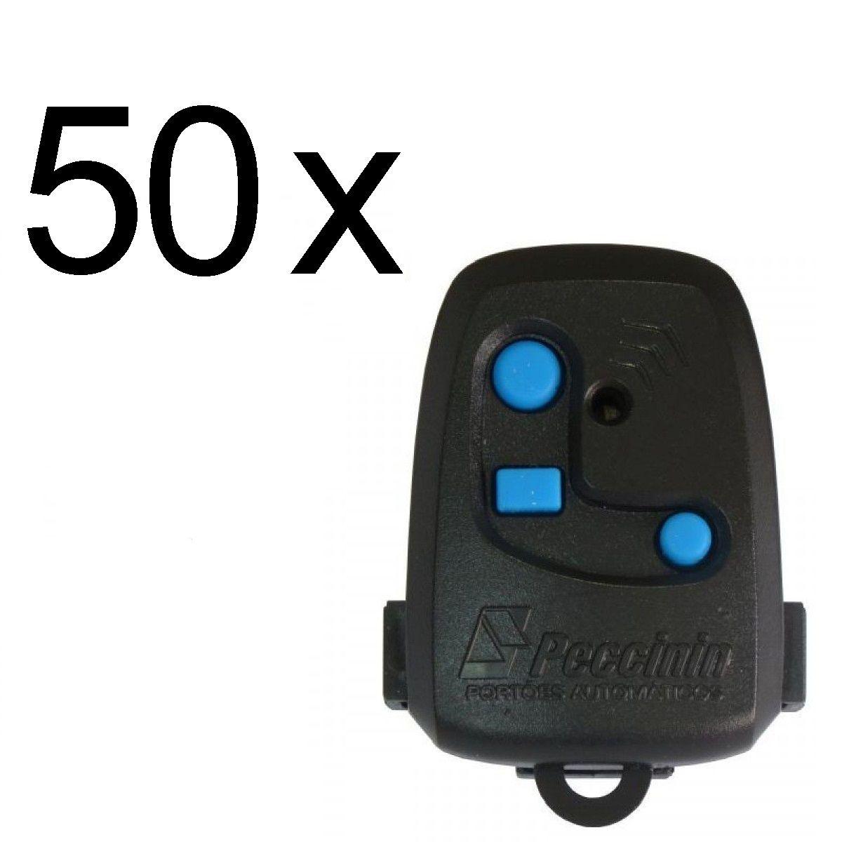 Kit 50 Controles de Portão 3C Peccinin