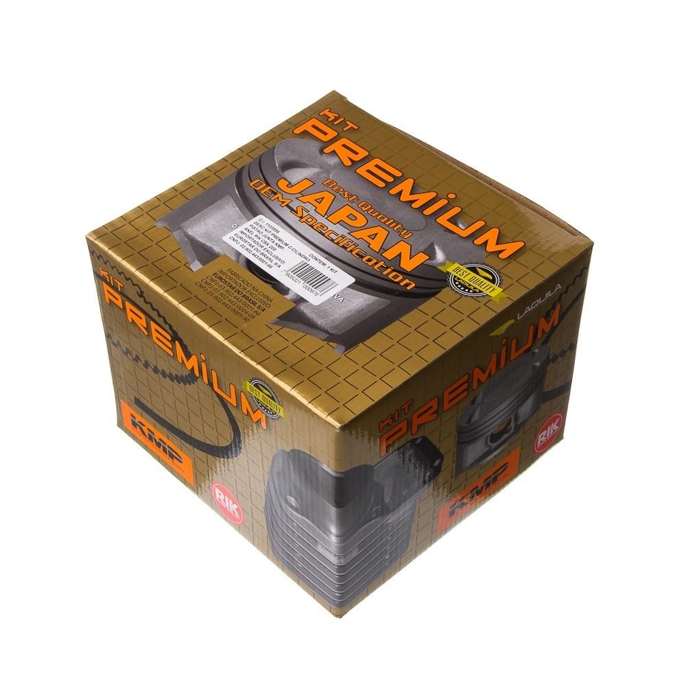 Kit Premium C/Cilindro Pistao Junta Kmp.Anel Rik Cbx 200