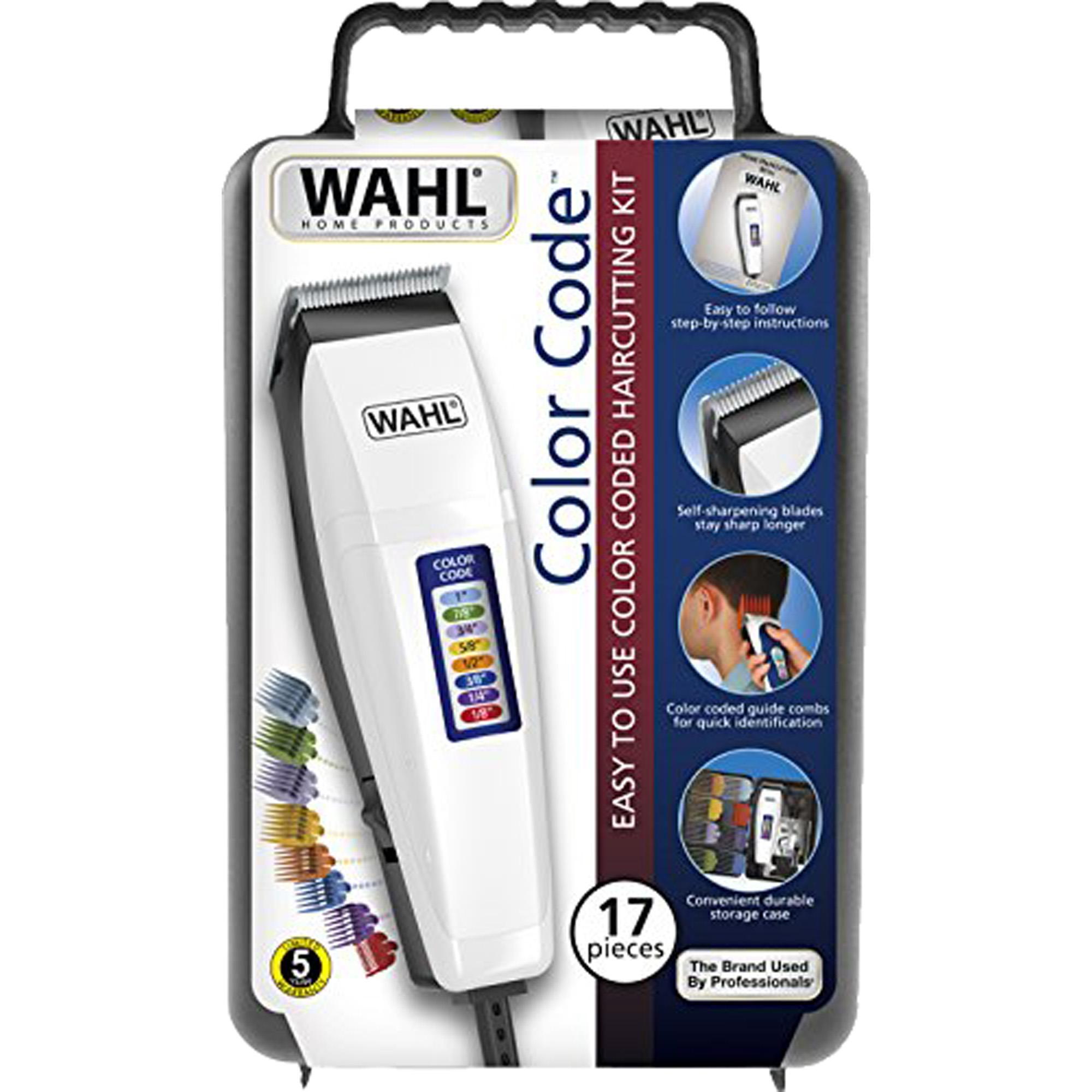 Máquina de Corte 127V COLOR CODE Branca WAHL