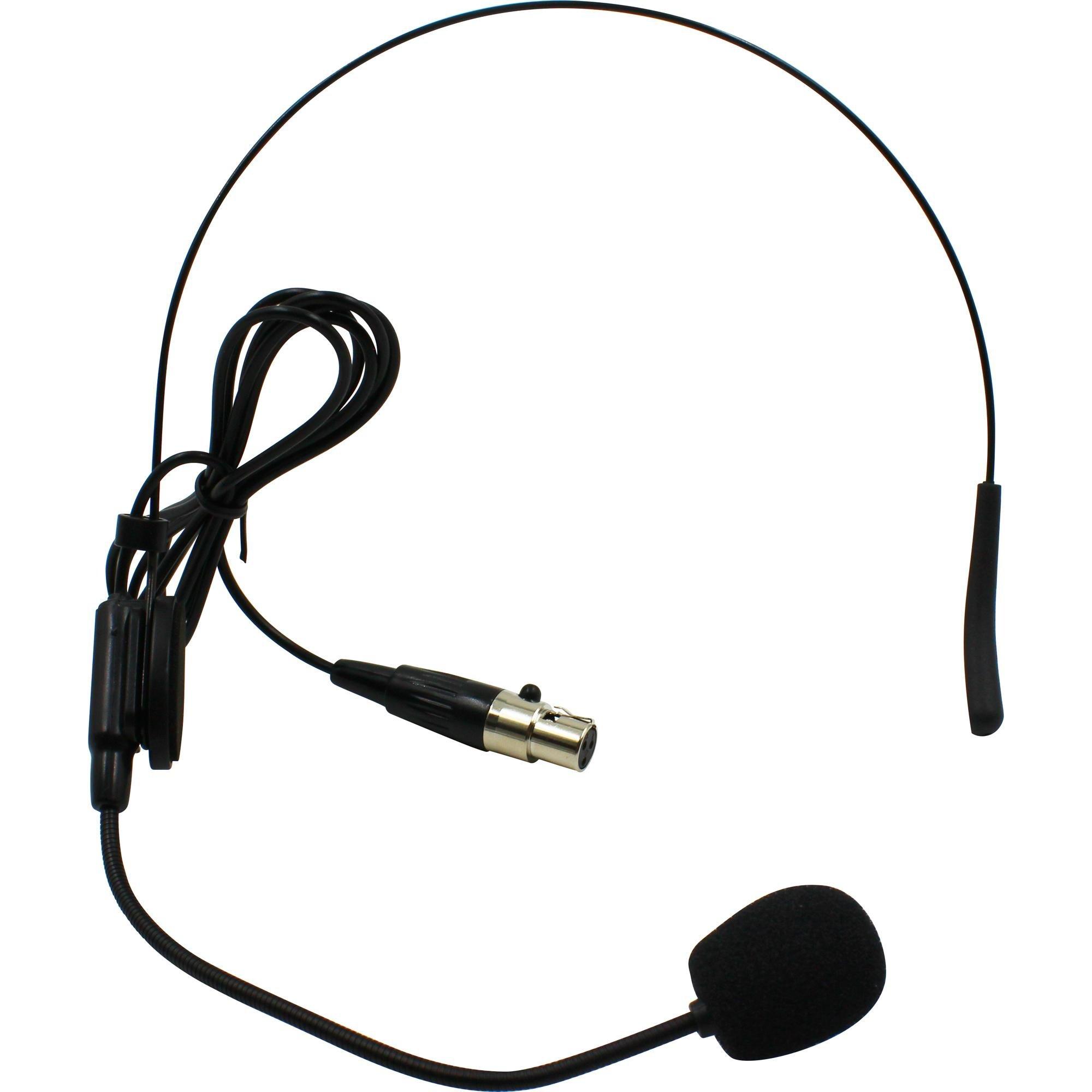 Microfone Headset sem Fio HD 750SF Preto LESON