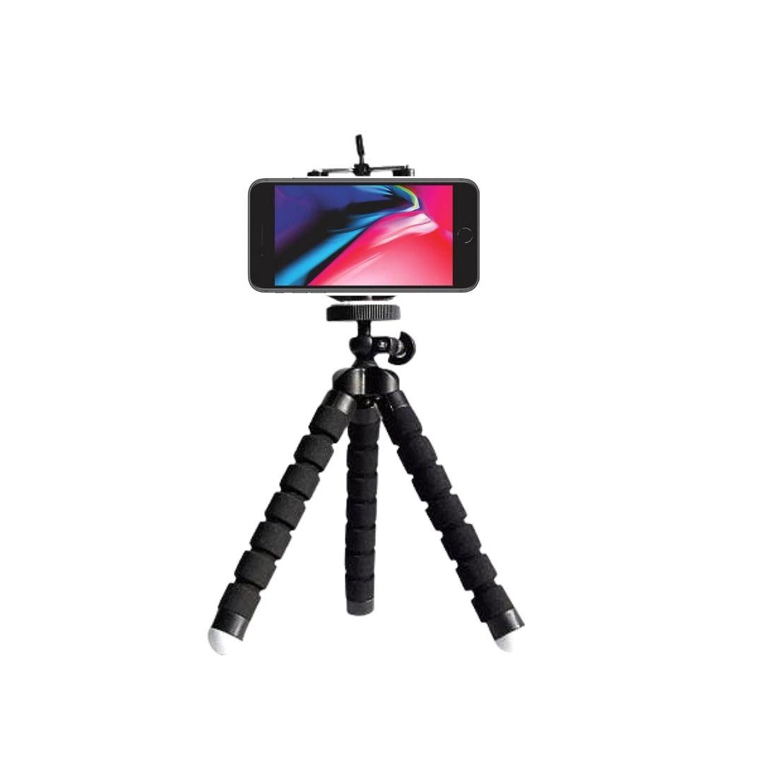 Mini Tripé Flexível para Celular/Câmera Spider Selfie Pod