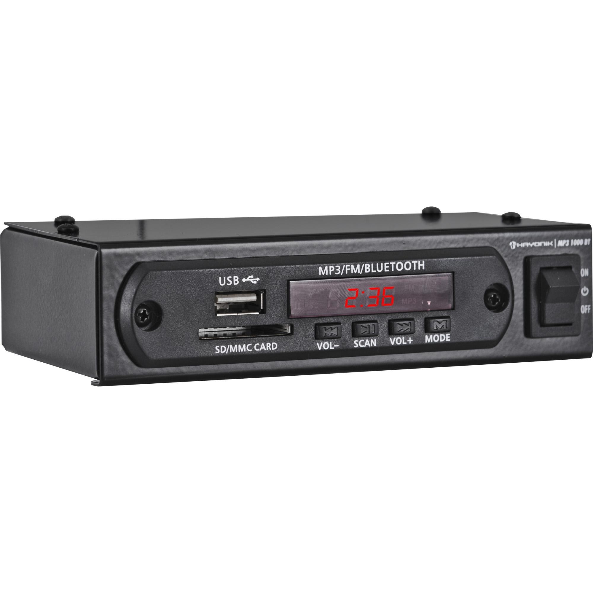 Módulo Pré Amplificador C/ FM/USB/MP3/Bluetooth MP3 1000BT P