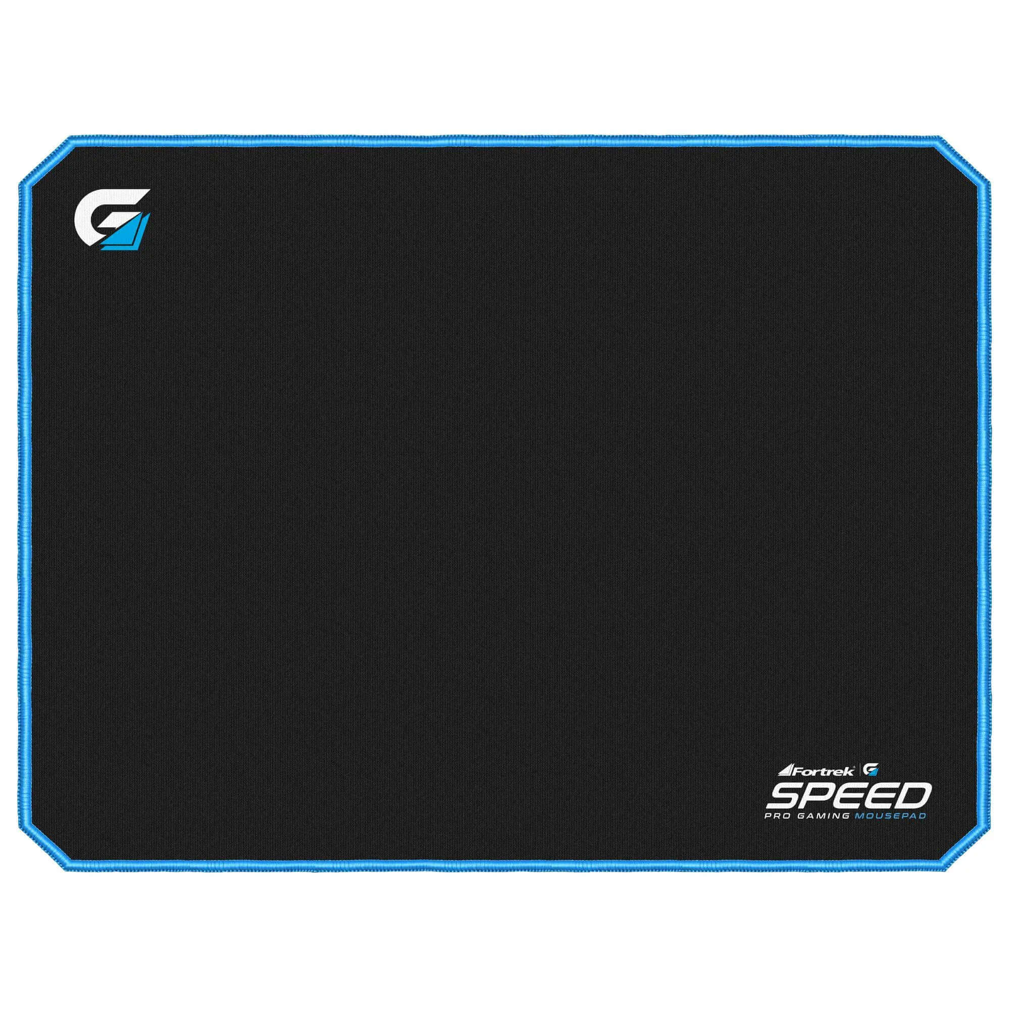 Mouse Pad Speed 320x240mm Fortrek Borda Azul