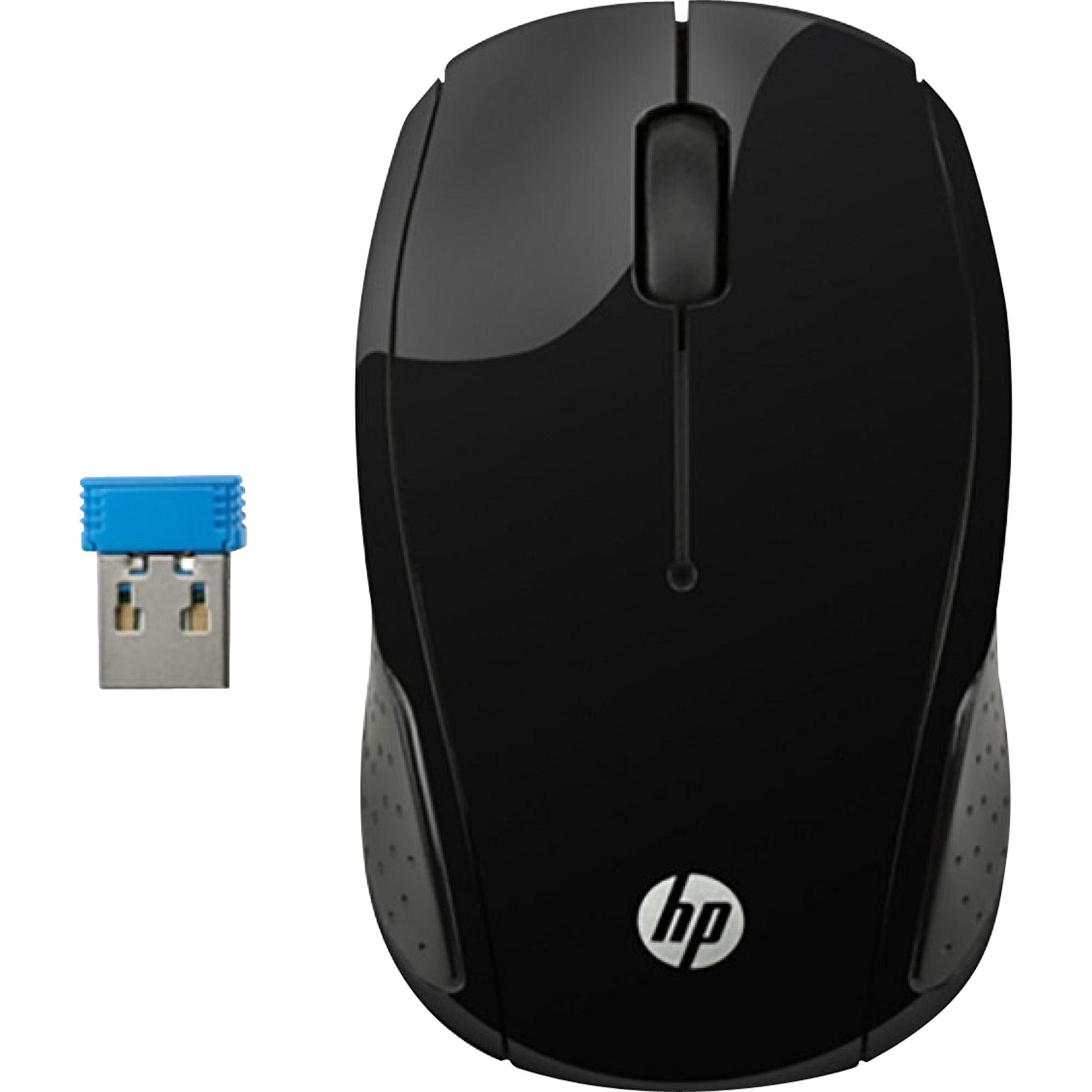 Mouse Wireless S/ Fio X200 Oman Preto HP