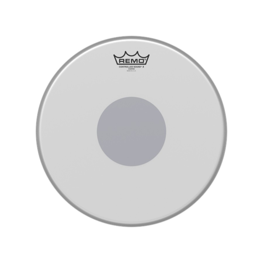 Pele 13 Pol Controlled Sound X Porosa C/ Circulo Preto Cx-01