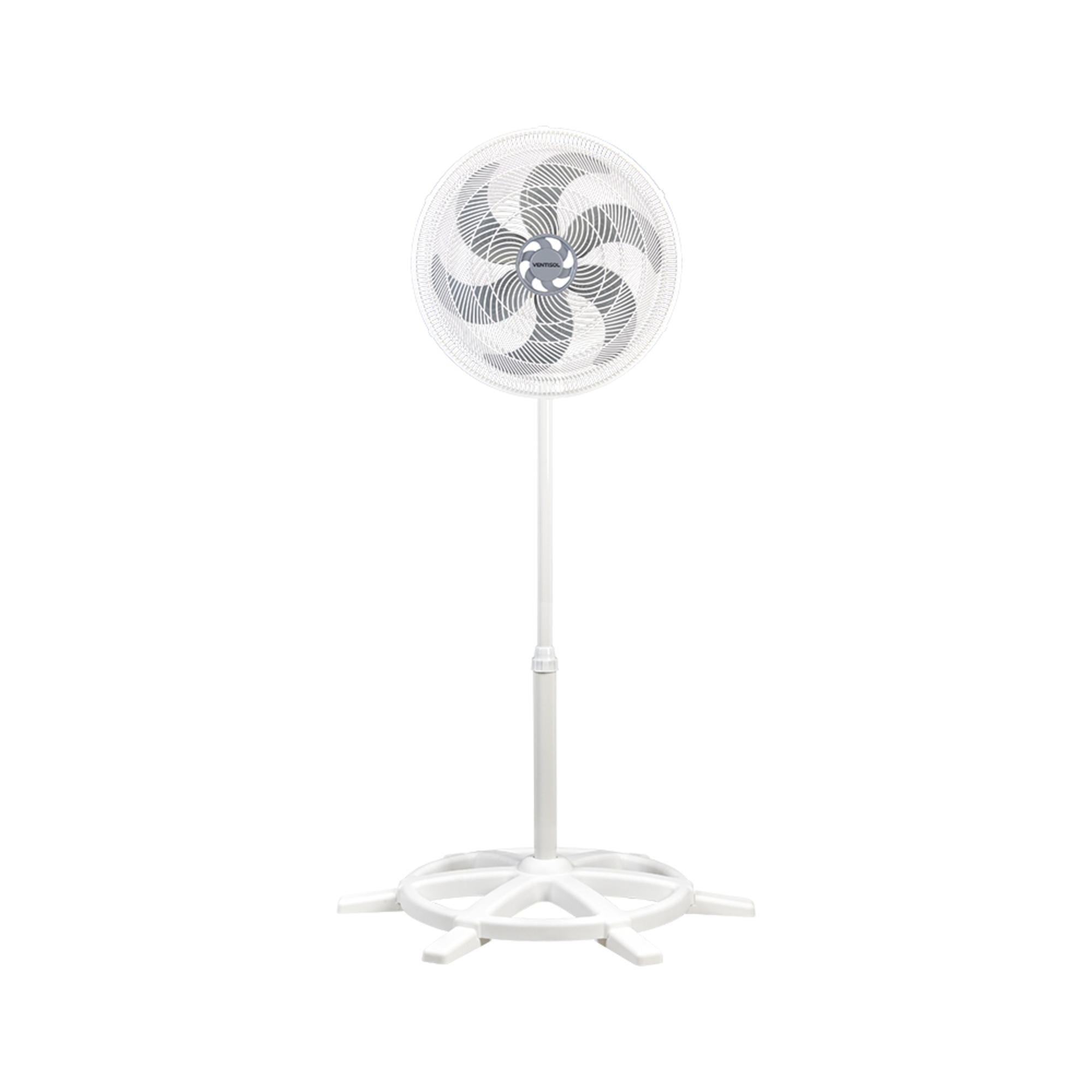 Ventilador de Coluna 40cm 127V Turbo 6 Branco VENTISOL