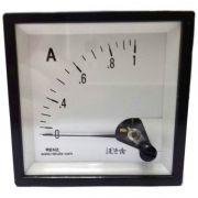 Amperímetro Analógico de Frontal 1A á 50A 72 x 72 FM72 Renz