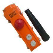 Botoeira Pendente 2 Botões + Botão de Emergência YQA1-61K JNG