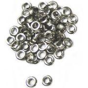 Ilhós Ferro Nº 70  - 6.3mm de diâmetro Embalagem com 10.000 Peças