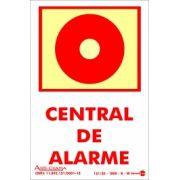 Placa PVC Central de Alarme - Fotolito 100 x 150 x 0,80mm