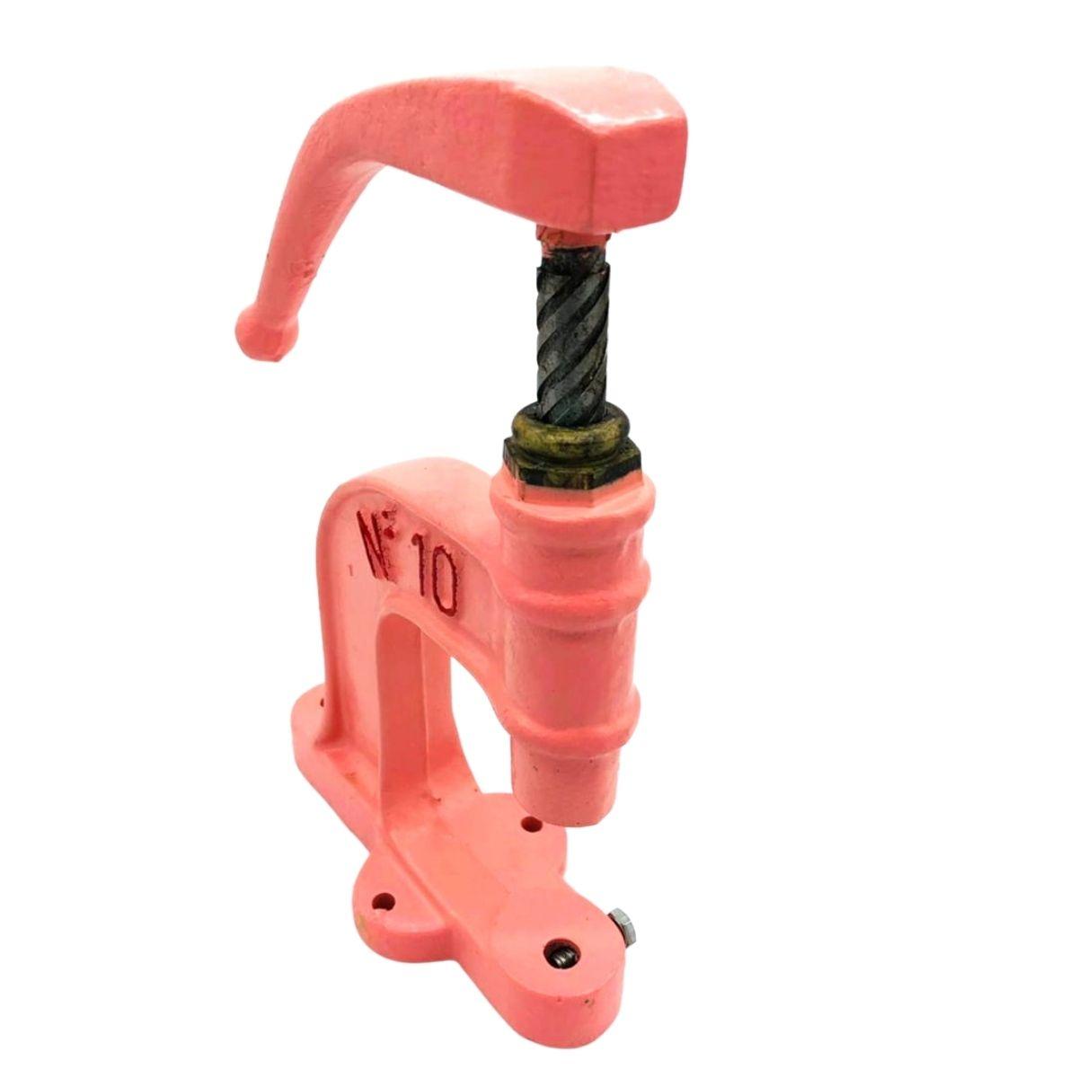 Balancim Manual Rosa Nº 10 capacidade de pressão 100Kg acionamento frontal