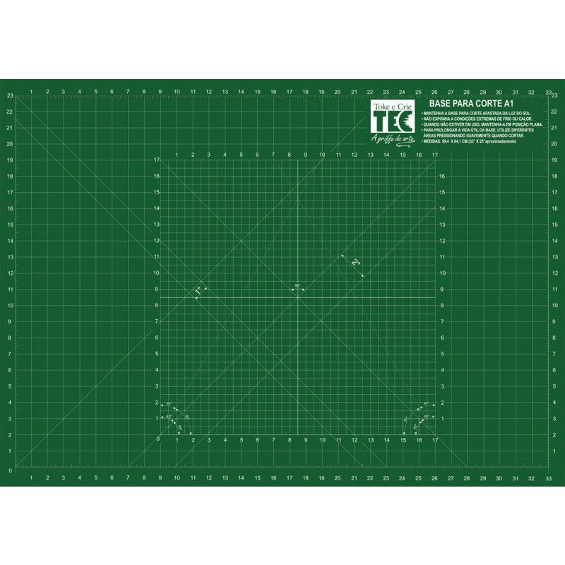 Base para Corte Multifuncional A1 90cm x 60cm Toke e Crie