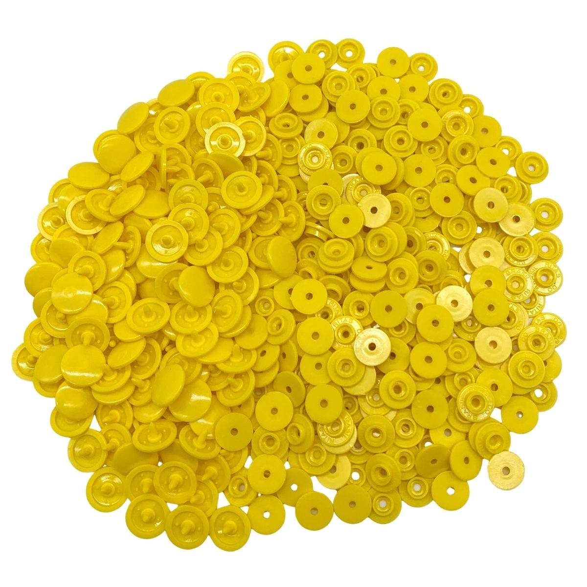 Botão de Pressão Ritas Nº 12 Amarelo
