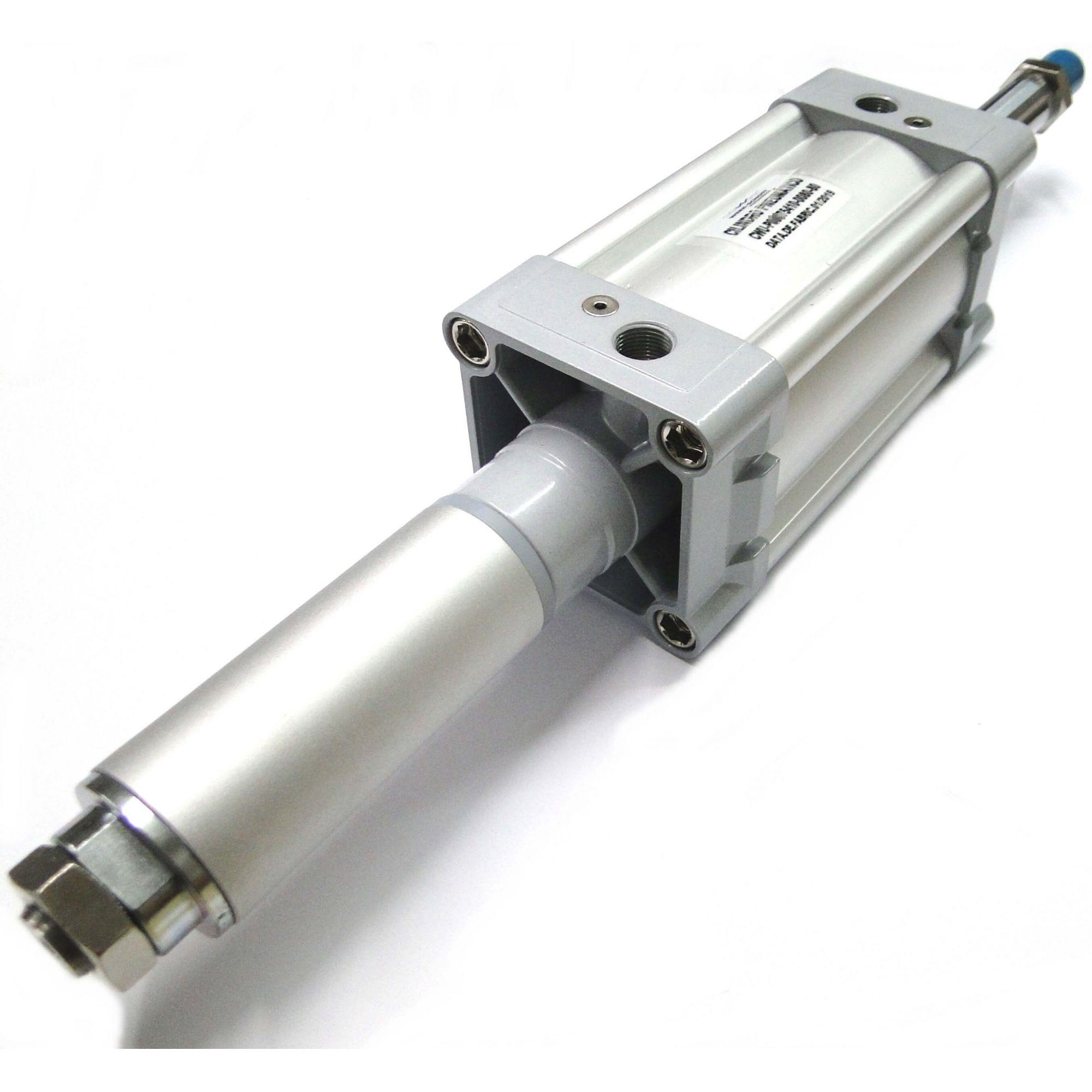 Cilindro Pneumático Iso Dupla Ação Diâmetro de 125mm x Curso de 140mm Werk Schott