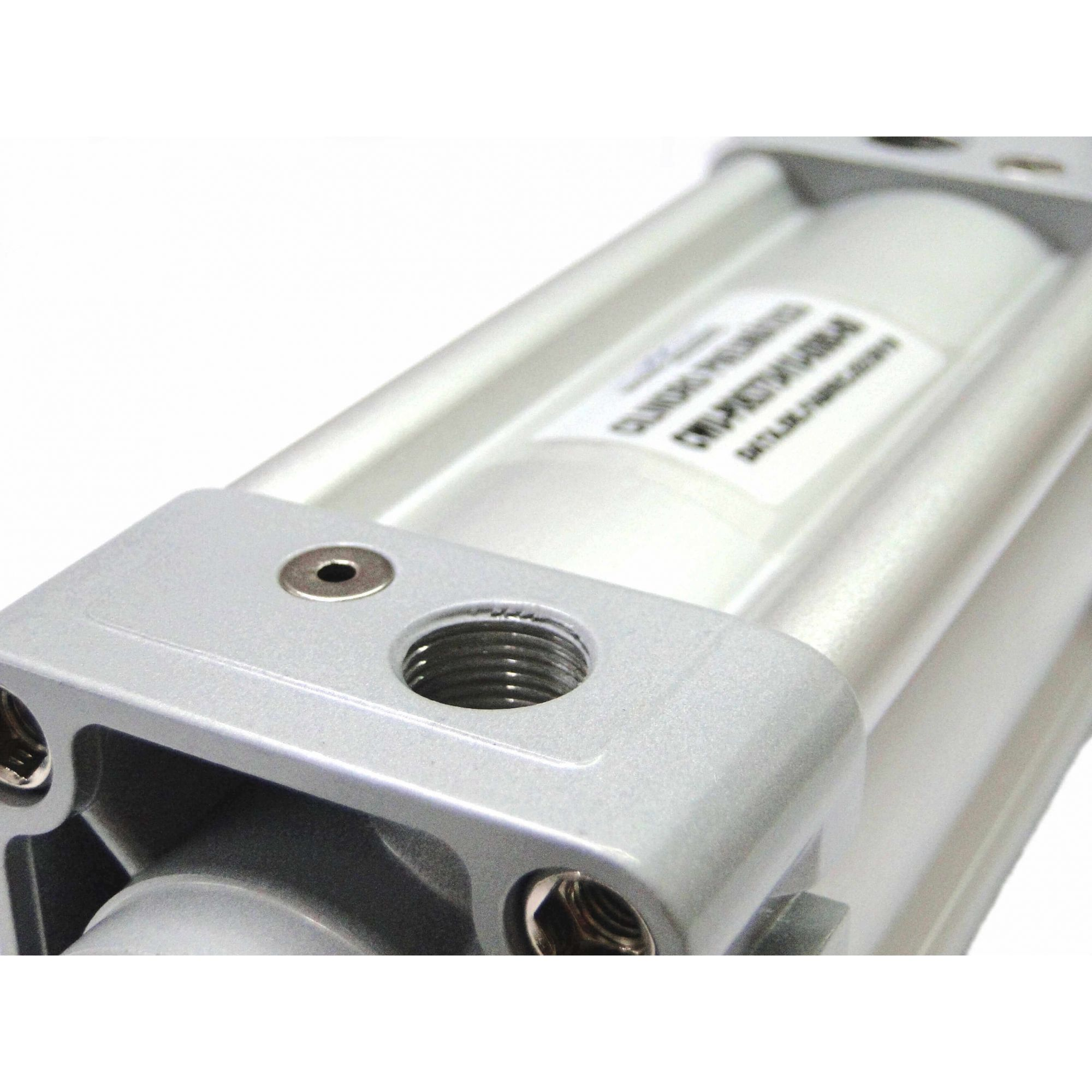 Cilindro Pneumático Iso Dupla Ação Diâmetro de 63mm x Curso de 80mm Werk Schott