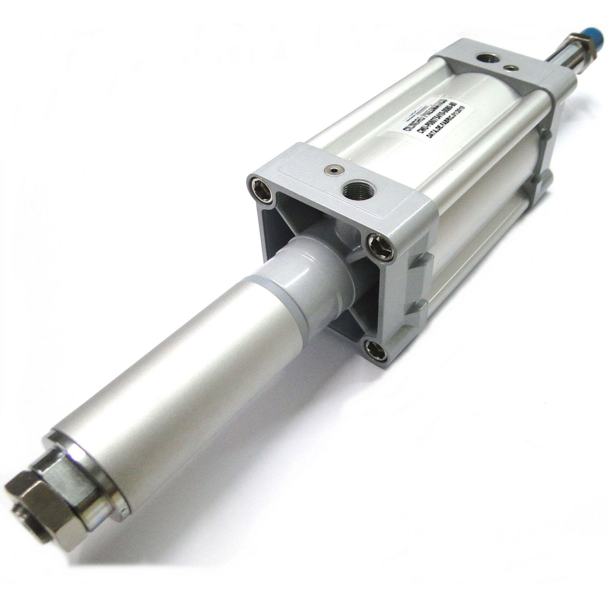 Cilindro Pneumático Iso Dupla Ação Diâmetro de 80mm x Curso de 80mm Werk Schott