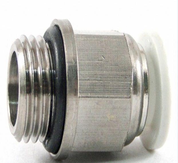 Conexão Reta rosca 1/4 x 8mm