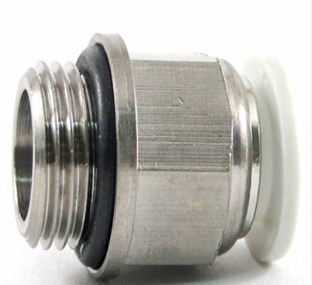 Conexão Reta rosca 1/8 x 8mm