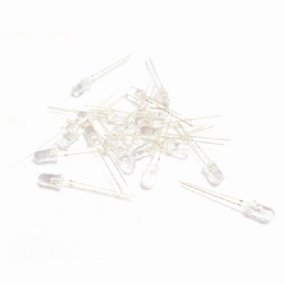 Diodo Led Alto Brilho 5mm, embalagem com 20 peças