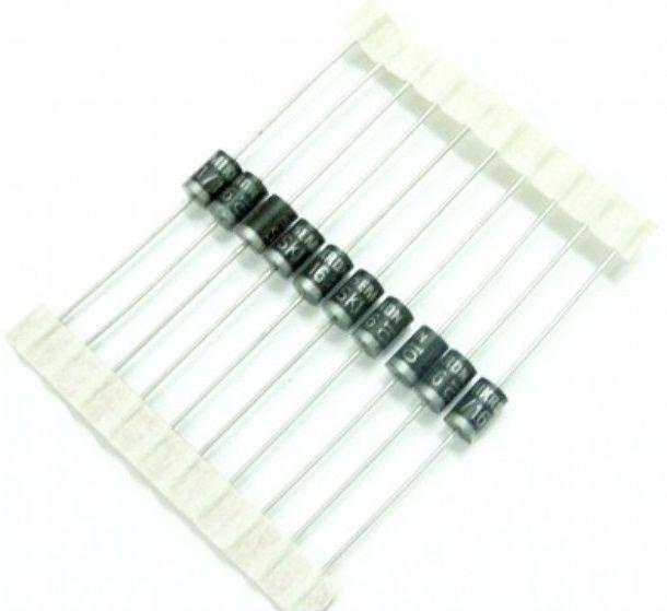 Diodo retificador SK 3/16 suporta 3A e 1600V (embalagem com 20 peças)