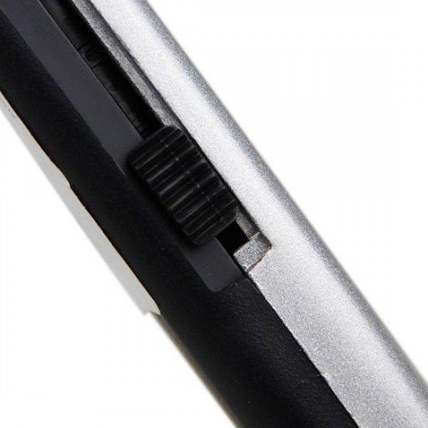 Estilete Retrátil de uso geral lâmina trapezoidal de aço carbono 15,5cm Stanley