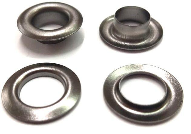 Ilhós com Arruela Ferro Nº 0 - 18mm de diâmetro externo - Diversas Cores