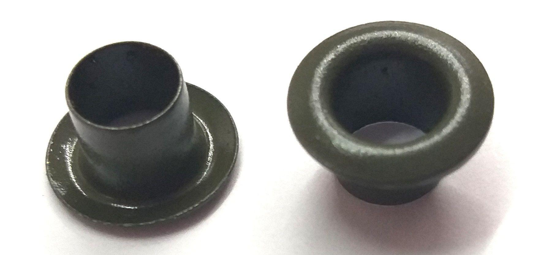 Ilhós sem Arruela Ferro Nº 50 - 11mm de diâmetro externo - Diversas Cores
