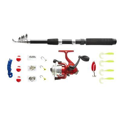 Kit Pesca com Molinete 31 Acessórios VP-05 Western
