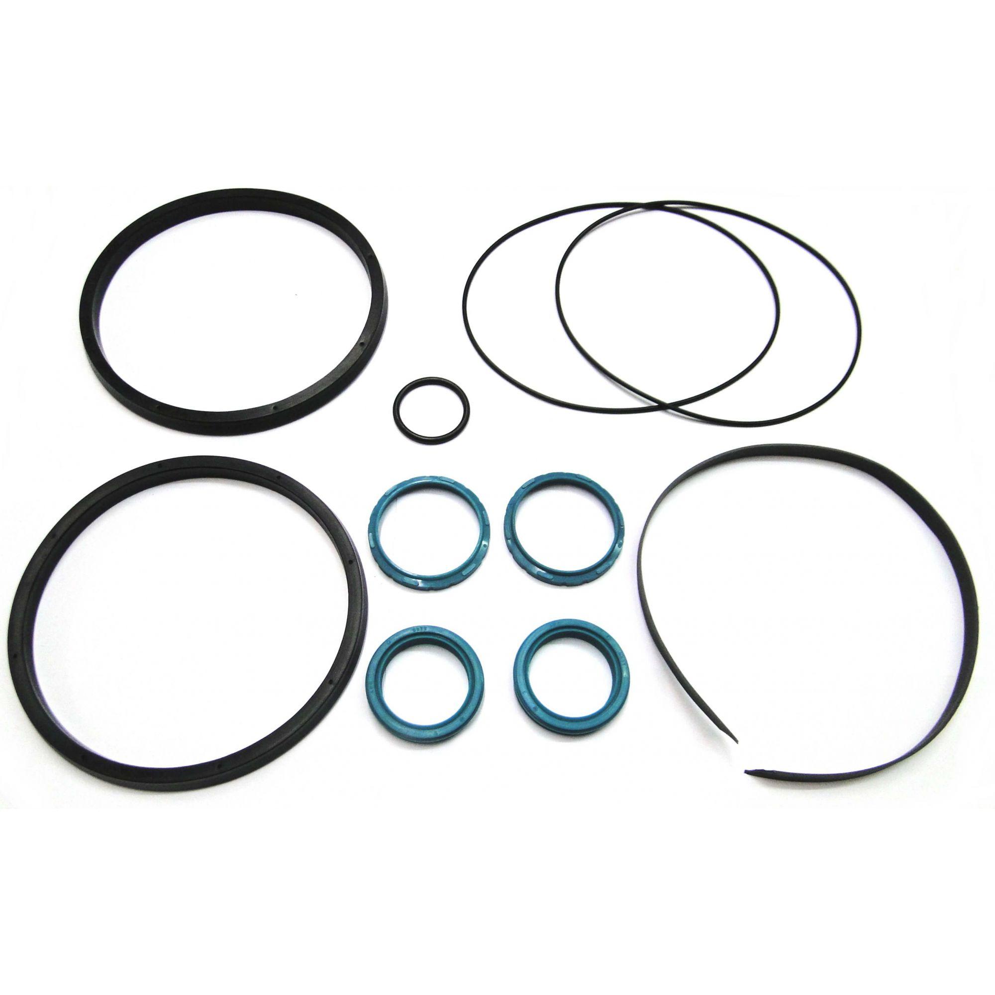 Kit Reparo para Cilindro Pneumático Haste Dupla E160 Werk Schott