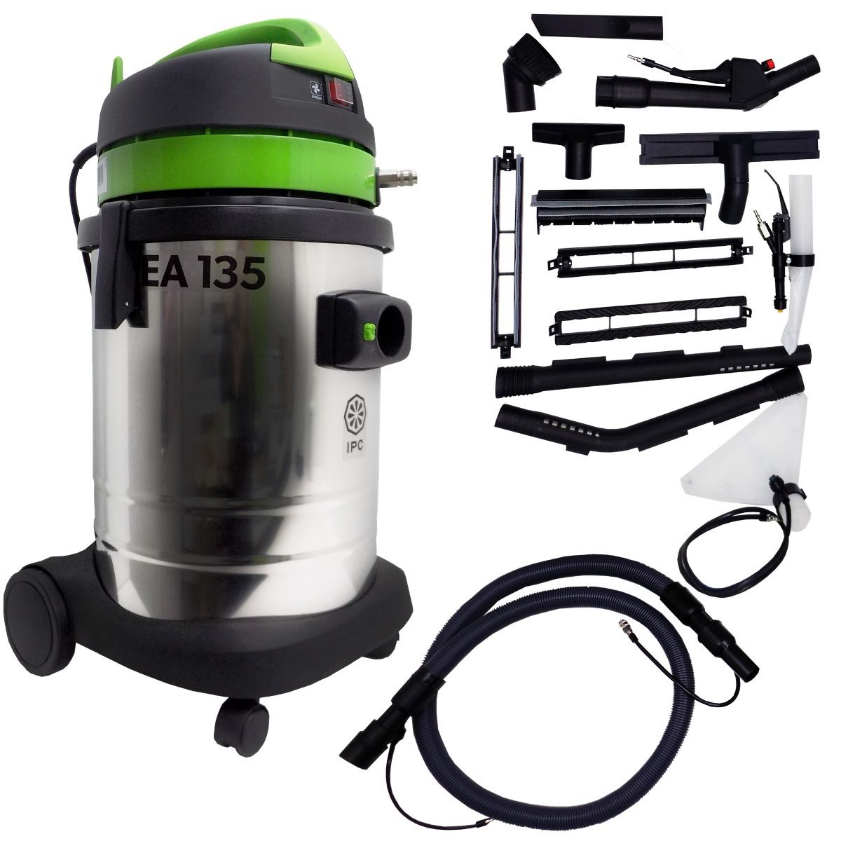 Extratora e Aspirador EA135 24kpa 1400W Tanque de 35Lts IPC Soteco