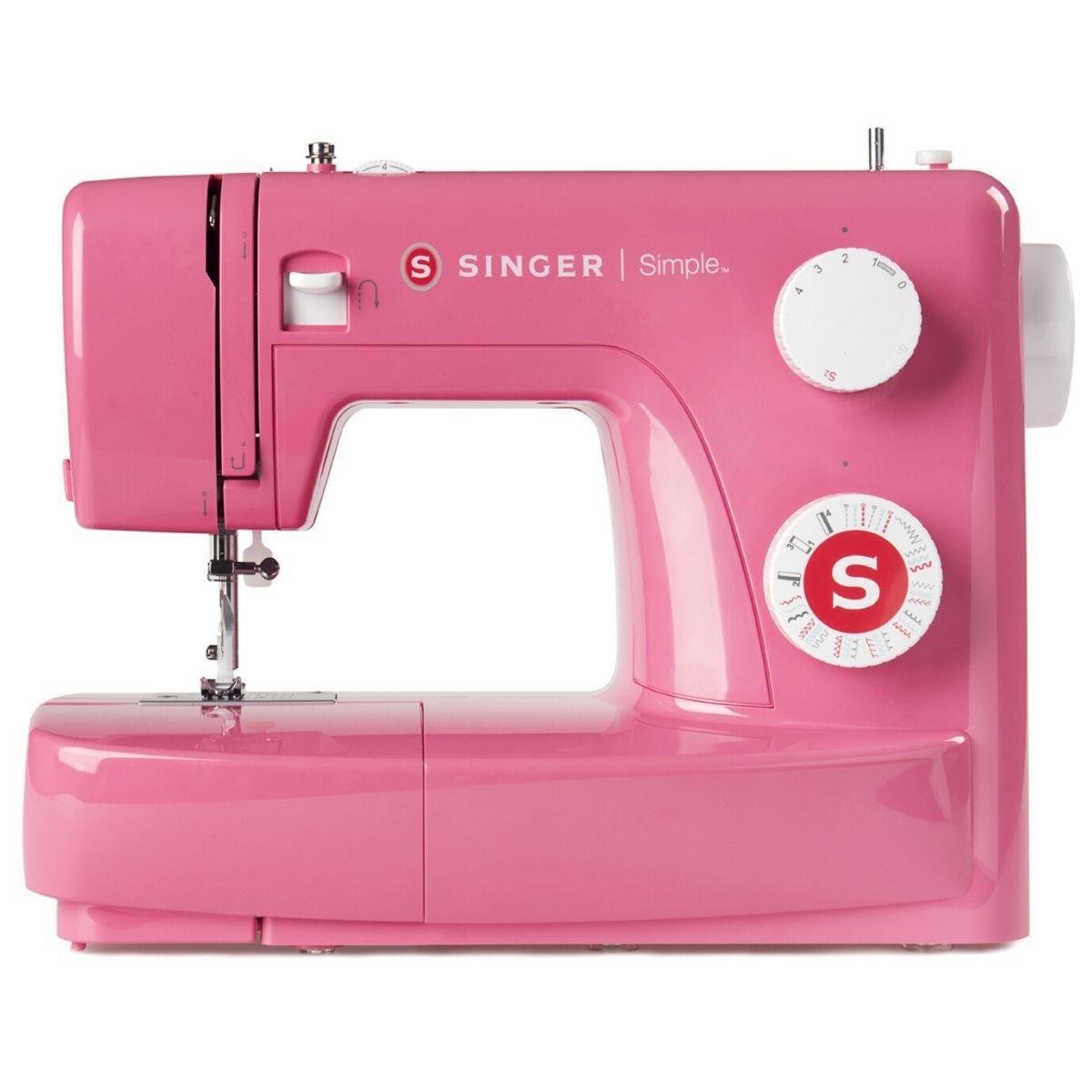 Máquina de Costura Doméstica Singer 22 Pontos 3223R Rosa