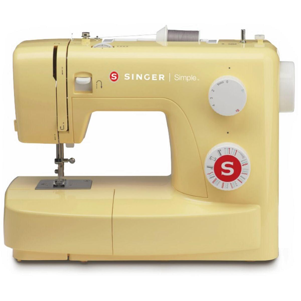 Máquina de Costura Doméstica Singer 22 Pontos 3223Y Amarela
