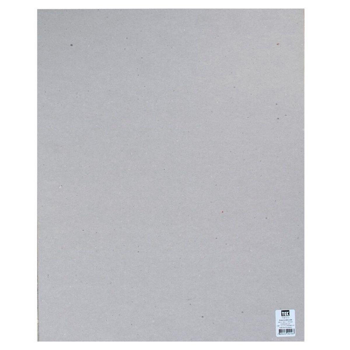 Papelão Cinza tipo Papel Holler 400 x 500 x 1,4mm Toke e Crie