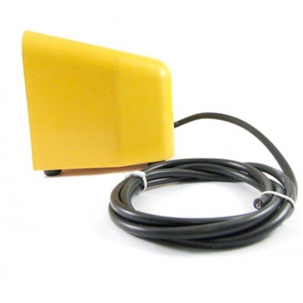Pedal de comando acionamento eletromecânico com proteção