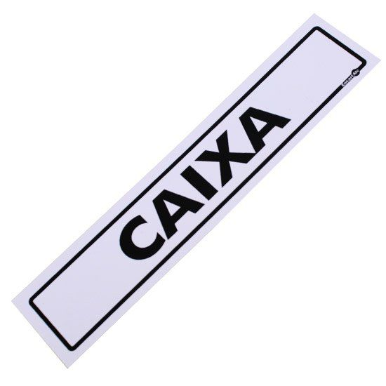 Placa PVC Caixa 300 x 65 x 0,80mm