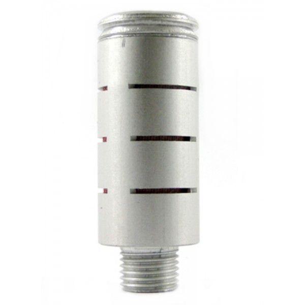 Silenciador Charuto Alumínio Rosca BSP - Diversas Medidas