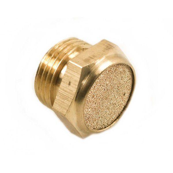 Silenciador de Bronze Mini Rosca BSP