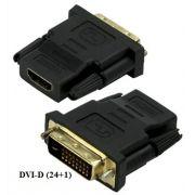 Adaptador DVI-D para HDMI-fêmea