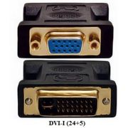 Adaptador DVI-I para VGA-fêmea